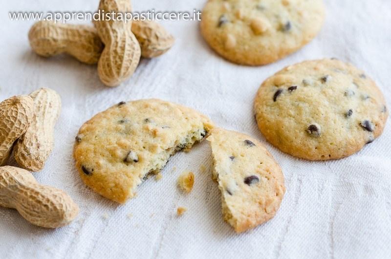 american chocolate & peanuts cookies (by luca montersino)