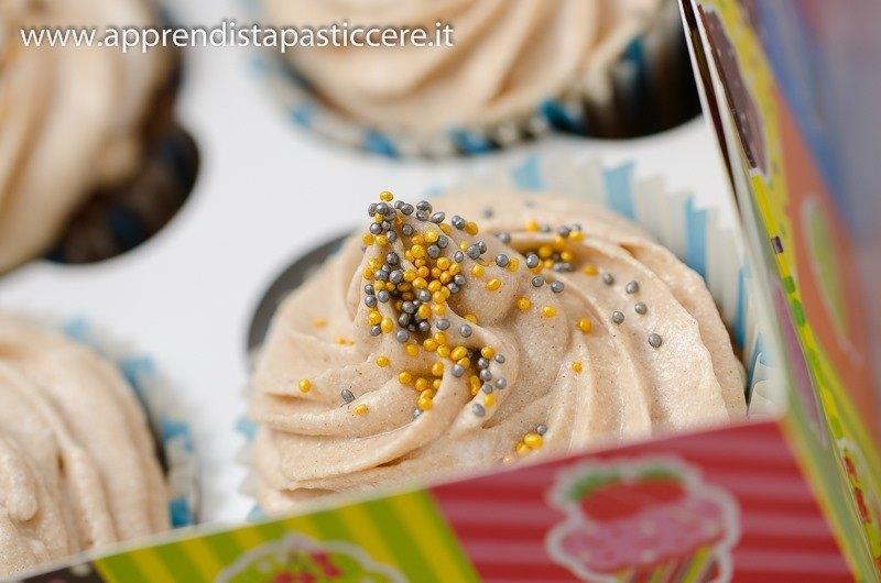 cupcake arancia e cannella